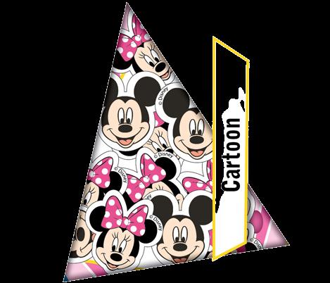 Пневмохлопушка CM036 (Mickey Mouse) 30 см