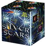 Салют Silver Stars MC200-25 25 выстрелов калибр 50 мм