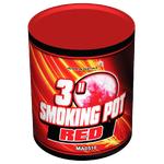 """Дымный факел 3"""" красный MA0510 Red 60 сек."""